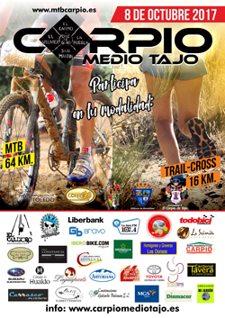 MTB Y TRAIL CROSS MEDIO TAJO CARPIO 2017