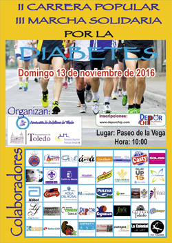 II CARRERA POPULAR POR LA DIABETES